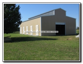 Horse Barn Construction Pictures