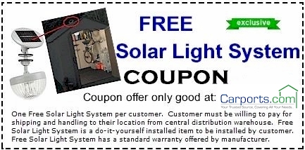 solar light coupon